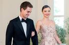 Miranda Kerr says she said yes to Snapchat CEO Evan Spiegel wedding proposal. Photo/AP