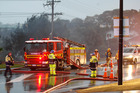 Northern Fire Communications shift manager Daniel Nicholson said four fire appliances were currently at the scene on Galloway St in Hamilton East. Photo / File