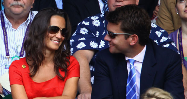 Pippa with her old beau, Alex Loudin, in 2011. Photo / Getty