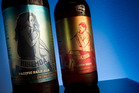 Birkenhead Brewing Company's Hinemoa Pacific Pale Ale, left, and Mokoia Pilsner Beer. Photo / Stephen Parker