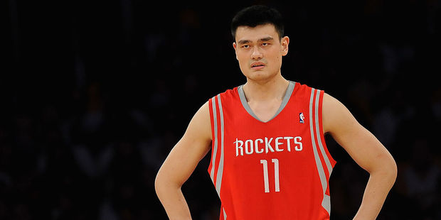 Former NBA centre Yao Ming. Photo / Getty Images