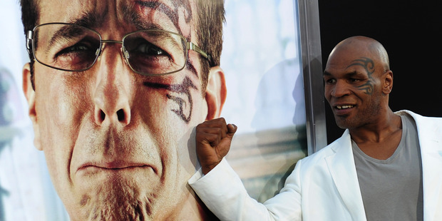 Mike Tyson racked up the laughs in The Hangover. Photo / Getty Images