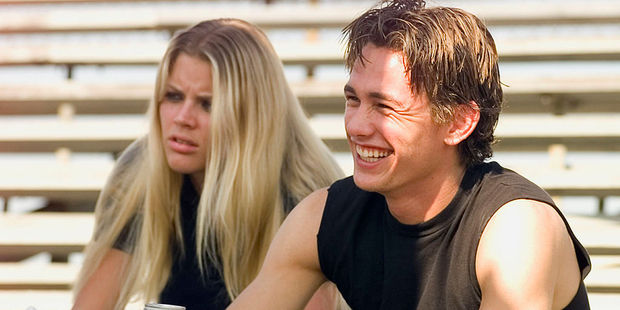 Busy Philipps as Kim Kelly, James Franco as Daniel Desario starred in the film Freaks and Geeks. Photo / Getty Images