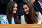 Catherine, Duchess of Cambridge, right, and her sister Pippa Middleton. Photo / Getty Images