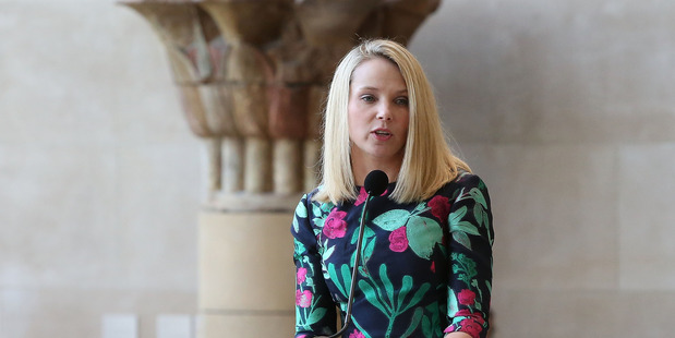 Yahoo chief executive Marissa Mayer. Photo / Getty Images