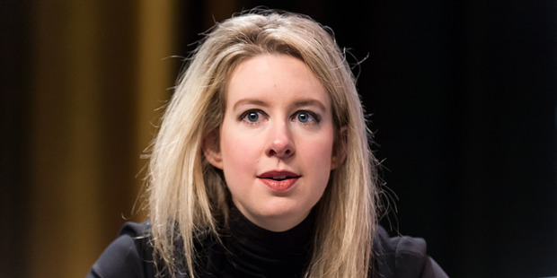 Founder and CEO of Theranos Elizabeth Holmes attends the Forbes Under 30 Summit at Pennsylvania Convention Center on October 5, 2015. Photo / Getty