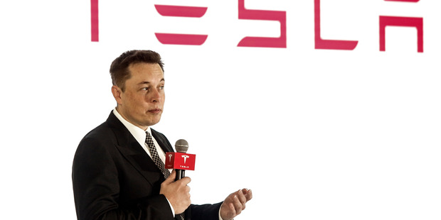 Elon Musk, founder and chief executive of Tesla Motors and SpaceX. Photo / Getty Images