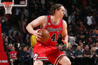 Cameron Bairstow playing for the Chicago Bulls. Photo / Getty Images