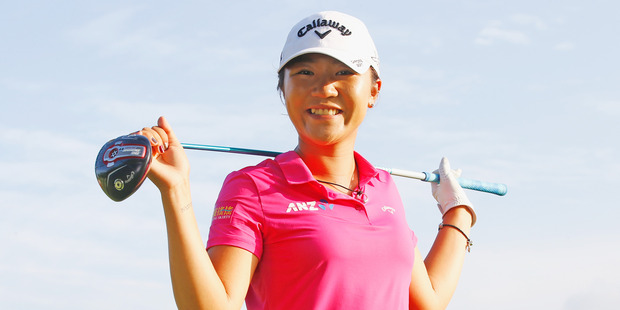 Lydia Ko of New Zealand has now reached $10 million in career earnings. Photo / Getty