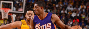Brandon Knight playing for the Phoenix Suns. Photo / Getty Images