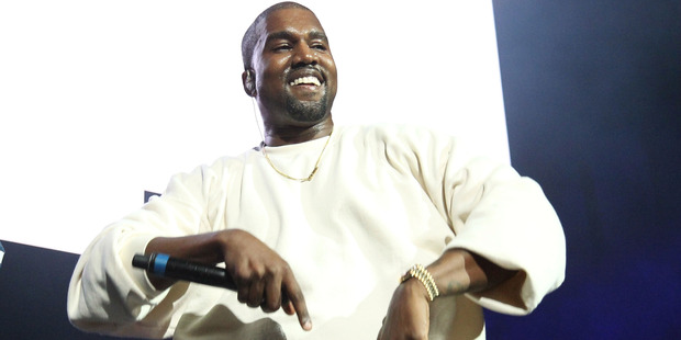 Kanye West. Photo / Getty Images