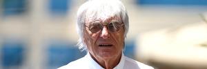 F1 supremo Bernie Ecclestone in the paddock at Baku. Photo / Getty Images