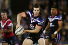 Charlie Gubb of the Warriors in action during a round 15 NRL match against the Roosters. Photo / Getty
