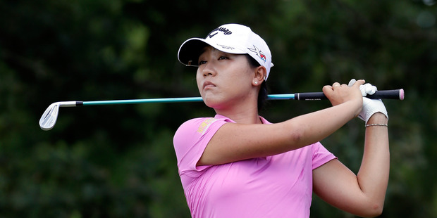 Lydia Ko during the final round of the Walmart NW Arkansas Championship. Photo / Getty Images