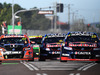 Jamie Whincup leads the field in race 1 for the Townsville 400. Photo / Getty Images