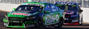 Mark Winterbottomduring race 2 for the Townsville 400. Photo / Getty Images