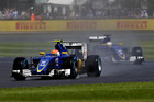 Felipe Nasr and Marcus Ericsson of Sweden driving for Sauber F1 Team. Photo / Getty Images