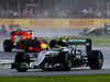 Nico Rosberg leads Daniel Ricciardo at the British Grand Prix. Photo / Getty Images