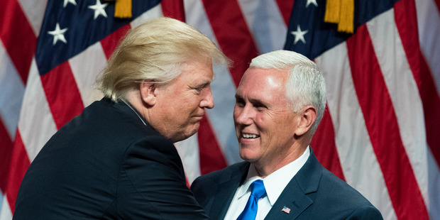 Loading According to the staffer, Donald Trump wants a Vice President who will do the heavy-lifting. Photo / Getty