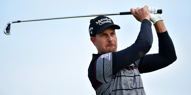 Henrik Stenson during the final round of the 145th Open Championship. Photo / Getty Images