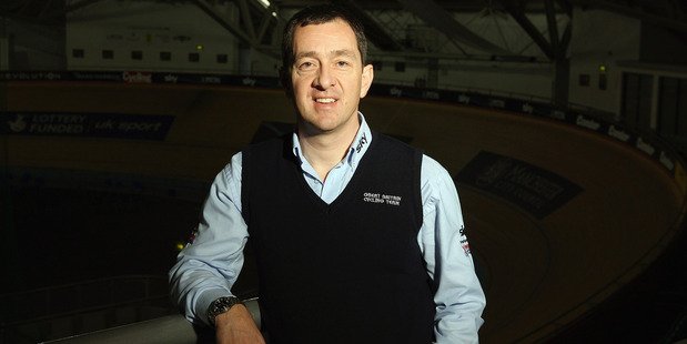 Former Olympic gold medal-winning cyclist Chris Boardman. Photo / Getty Images