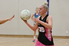 Emily Patterson at wing defence for New World Suburbs Premier. Photo / Alex Woods