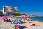 Magaluf, a Spanish party town on the island of Majorca, is one destination Stephanie hopes never to return to. Photo / Getty