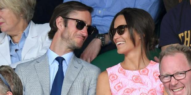 Loading James Matthews and Pippa Middleton announced their engagement this week.
