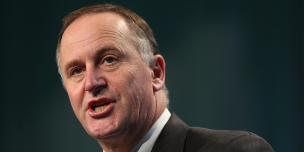 "Prime Minister John Key has dismissed talk of a ""trade war"" with China. Photo / Greg Bowker"
