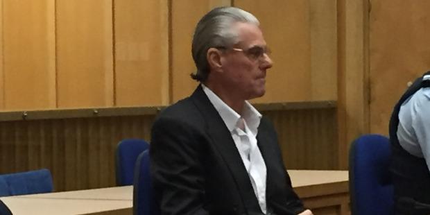 Anthony Ballantyne during the trial for the murder of Ivan Kapluggin. Photo / Belinda Feek