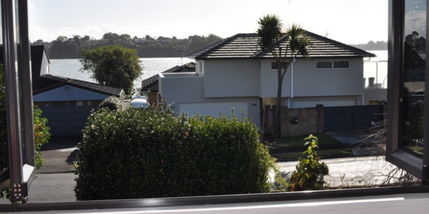 Loading View from the Ogilvys' property on Forrester Drive, Welcome Bay, Tauranga. Photo / Supplied