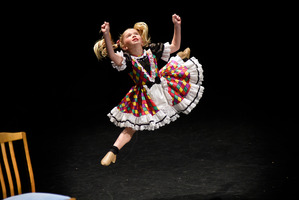 DANCE: Eva Jeffries at the Tauranga Performing Arts Festival. PHOTO/George Novak