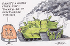 Cartoon: There'll be no Fascism in Turkey