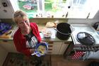 Garrath Stoddart is making hot lunches three times a week for kids at Merivale School. Photo/John Borren