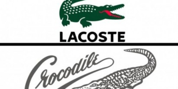 Loading The Lacoste logo and the trademark being disputed. Photo / Supplied