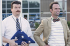 Danny McBride stars in Vice Principals as Neil Gamby, who teams up with his workplace rival Lee Russell (Walton Goggins) to take down their mutual nemesis. Photo / HBO
