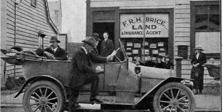 The Old Granary in Marton circa 1925