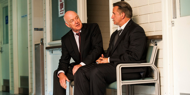 John Clarke and Anthony LaPaglia star in the movie A Month of Sundays.