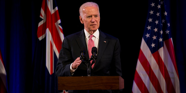 More than thirty years on, full peace has finally been restored with Joe Biden accepting an invitation to send a non nuclear warship to NZ. Photo / Dean Purcell