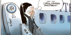 View: Cartoon: Joe Biden visits New Zealand