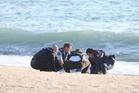The body of 45-year-old Tauranga man Benjamin Christopher Dahlkamp was found at Mount Maunganui beach yesterday morning. Photo/John Borren