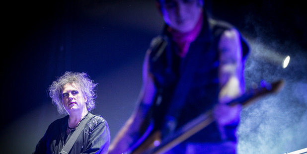 The Cure perform at the Vector Arena, Auckland. Photo / Michael Craig