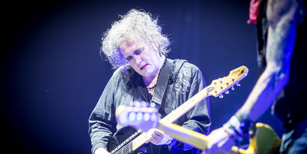 The Cure's Robert Smith. Photo / Michael Craig