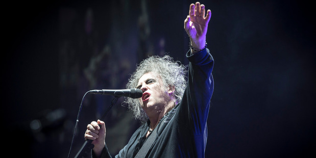 The Cure perform at the Vector Arena. Photo / Michael Craig