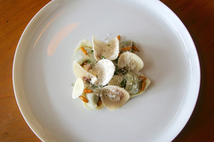Leslie Hottiaux's gnocci dish. Photo / Supplied