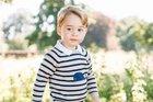 New birthday photos of Prince George