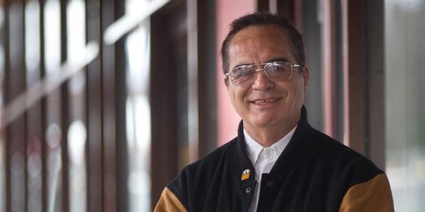 John Rakei-Clark, new Rotorua mayoral candidate. Photograph by Stephen Parker