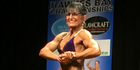 Alison Richards won her fourth straight title at the Hawkes Bay body building championships