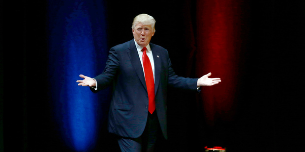 Trump believes, as he has said throughout the campaign, that he is a winner. Photo / AP