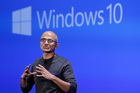 Microsoft CEO Satya Nadella said the past year had been pivotal in the company's transformation. Photo / AP